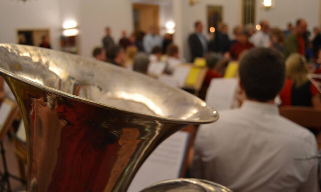 Konsert med Gamla Uppsala Symphonic Band
