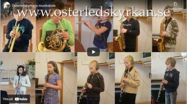 Kom till Österledskyrkans musikskola